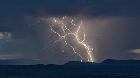 Photo of thunder and lightning