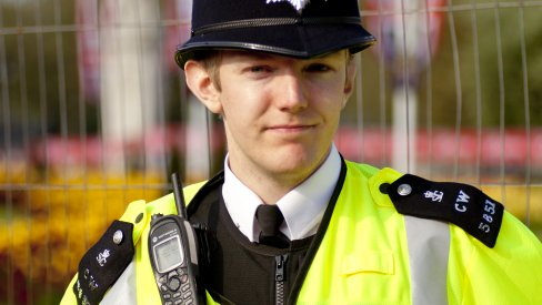Photo of a policeman