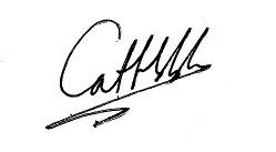 Cat Hobbs' signature