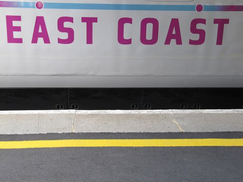 Photo of East Coast train