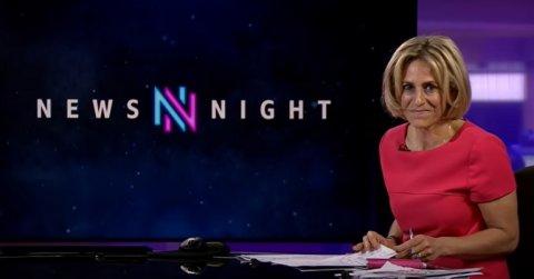 Emily Maitlis on BBC Newsnight