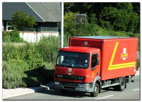 Photo of Royal Mail van