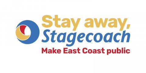 Stay away Stagecoach logo