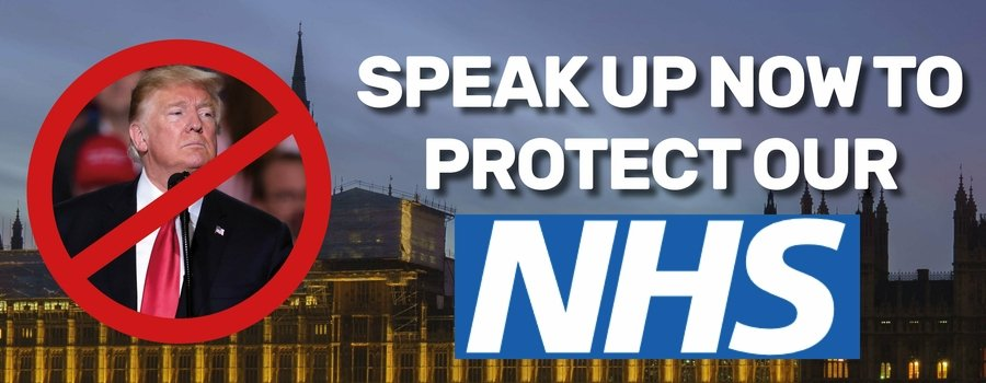 Speak up now to protect our NHS