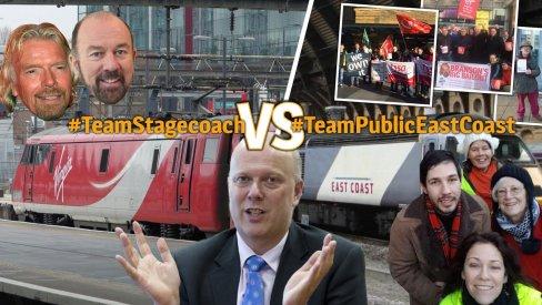 #TeamStagecoach vs #TeamPublicEastCoast