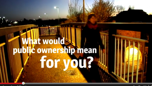 Photo of YouTube video screenshot 'What would public ownership do for you?'