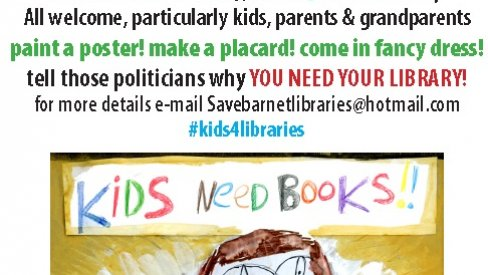 Photo of Kids4Libraries poster