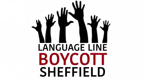 Language Line boycott Sheffield