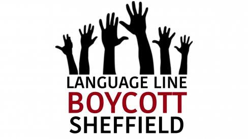 Language Line boycott Sheffield