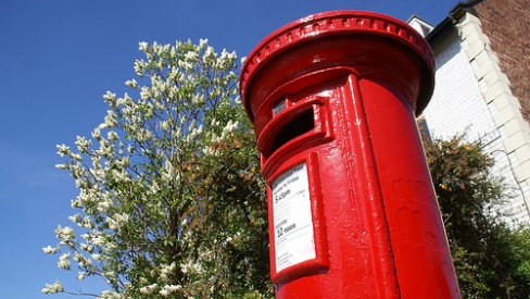 Photo of a postbox