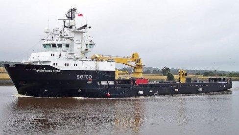 Photo of Serco ship
