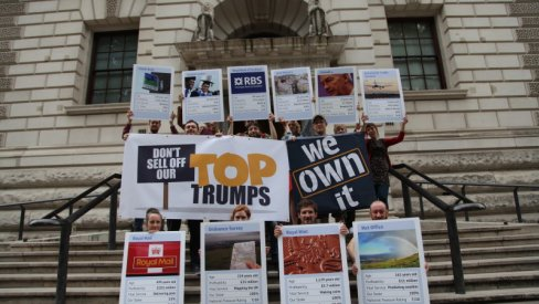 Launch of the Top Trumps campaign