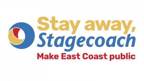 Stay away Stagecoach logo