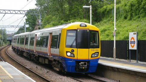 image of Overground train