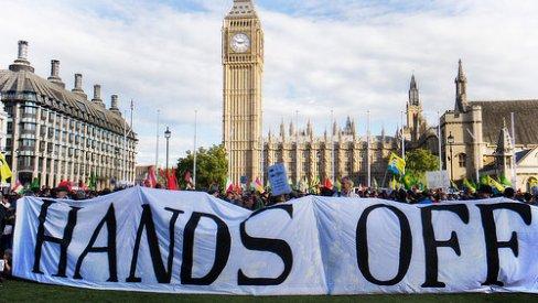 Stop TTIP demonstration